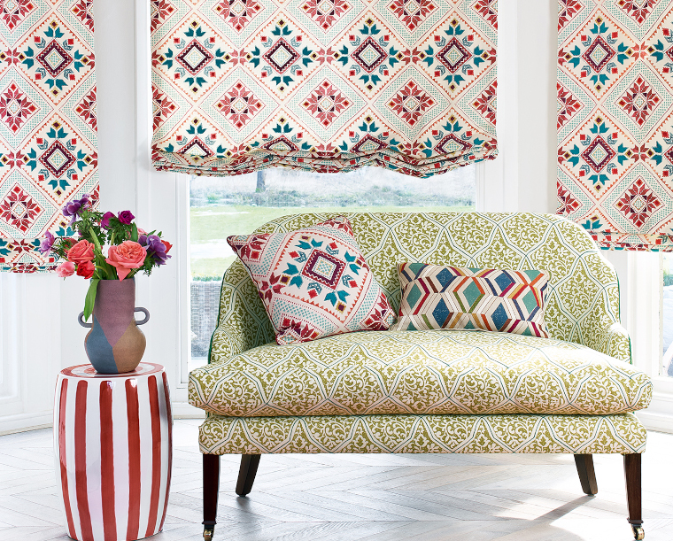 The latest fabric and wallpaper collections