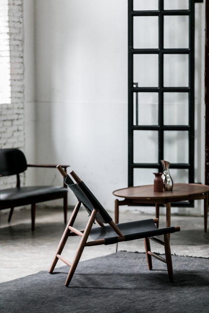 Triangle chair by Vilhelm Wohlert for Stellar Works