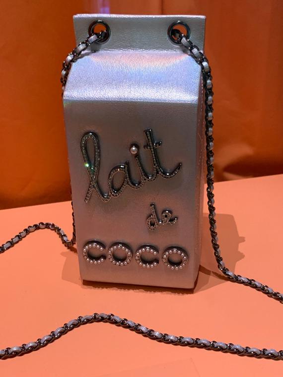 Chanel's Lait de Coco evening bag