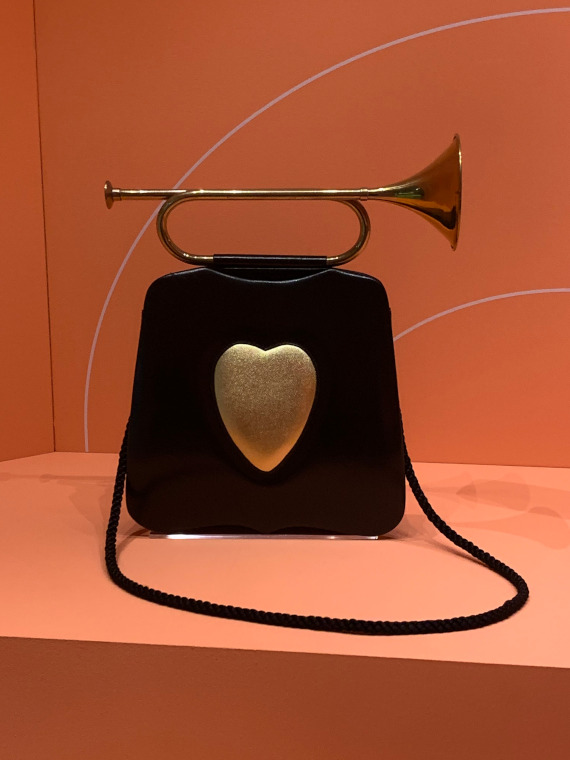 Irina Laski's 1992 Fanfare handbag