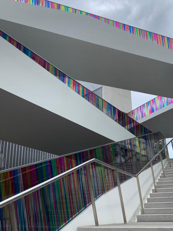 Hundreds and Thousands art installation at Greenwich Peninsula