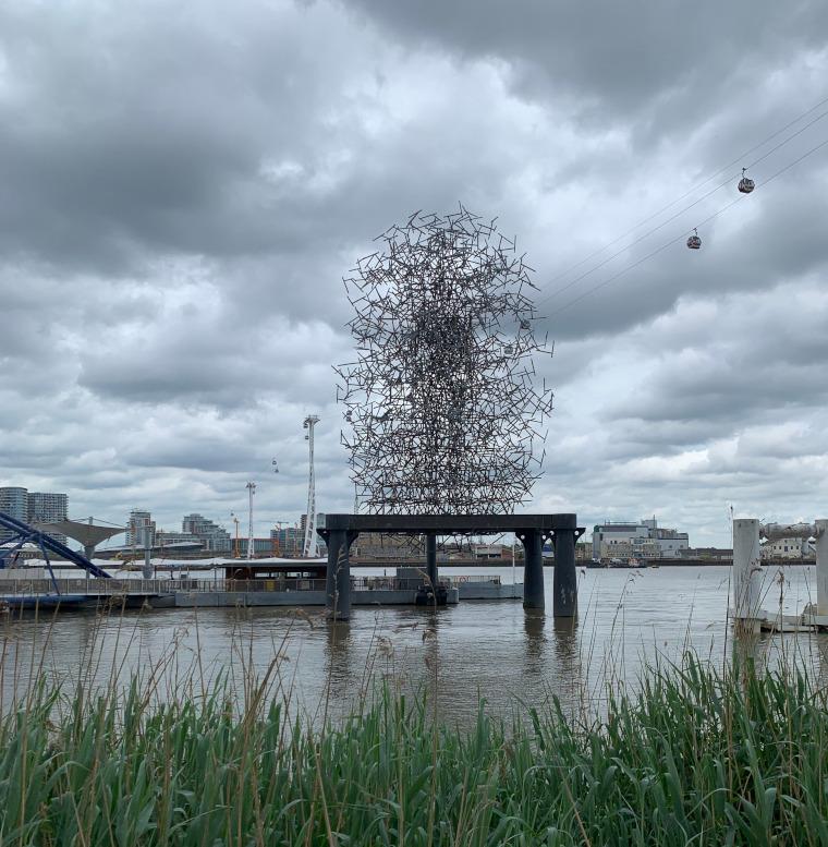 Quantum Cloud by Antony Gormley