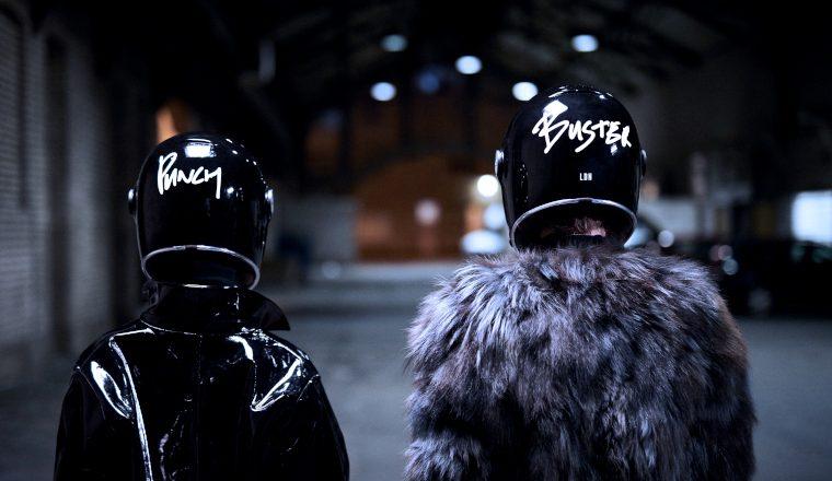 Buster + Punch crash helmets