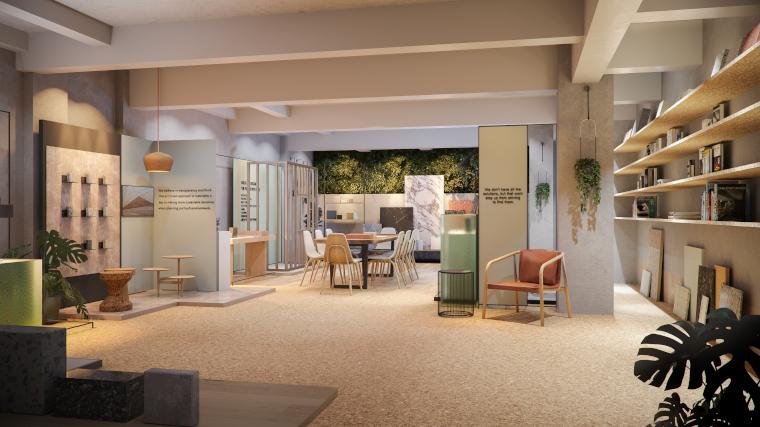The new EDGE sustainability showroom