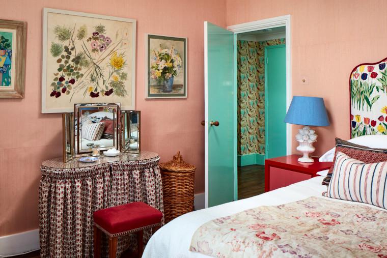 Cath Beckett's bedroom
