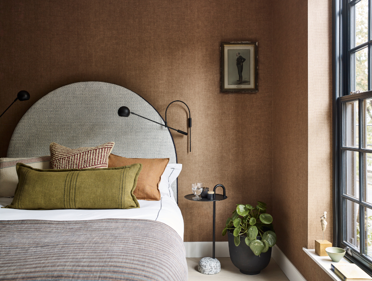 Bedroom for mid-century modern home