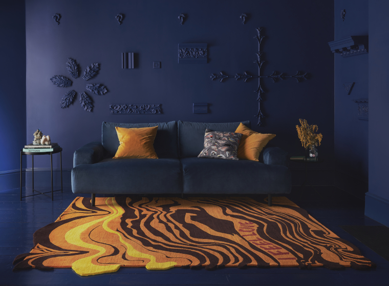 Henry Holland rug for Floor Story