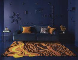Henry Holland rug for Floor Story London Design Festival